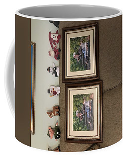 Coffee Mug featuring the photograph Wrong Pictures by Mary Almond