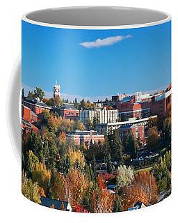 Wsu Autumn Panorama Coffee Mug