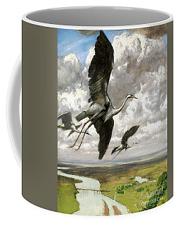 Coffee Mug featuring the painting Wundervogel by Pg Reproductions