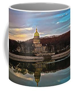 Wv State Capitol At Dusk Coffee Mug