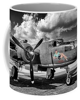 Ww2 B25 Mitchell Bomber Coffee Mug by Chris Smith
