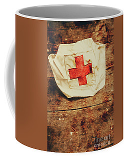Ww2 Nurse Hat. Army Medical Corps Coffee Mug