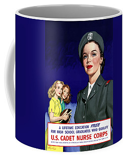 Ww2 Us Cadet Nurse Corps Coffee Mug
