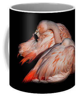 Coffee Mug featuring the photograph When Two Become As One by Karen Wiles