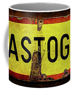 Wwii Bastogne Town Sign Coffee Mug