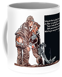 Wwii Joe Dope Cartoon Coffee Mug