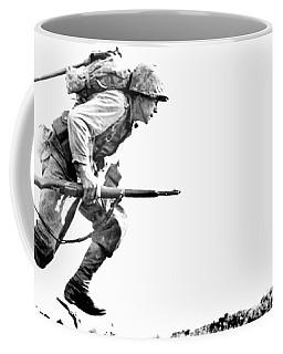 Wwii Marine Crosses Death Valley Okinawa Coffee Mug