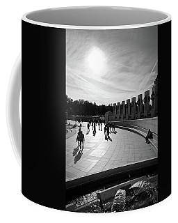 Coffee Mug featuring the photograph Wwii Memorial by David Sutton