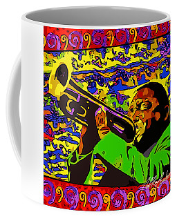 Wynton Marsalis Plays Louis Armstrong Rework Coffee Mug