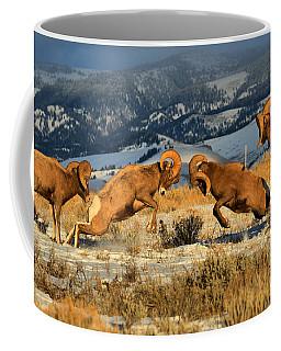 Wyoming Big Horn Brawlers Crop Coffee Mug