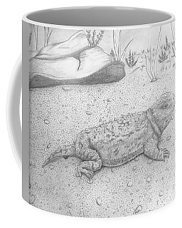 Wyoming Horny Toad Coffee Mug