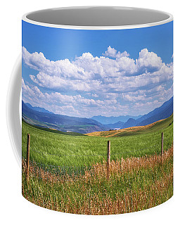 Coffee Mug featuring the photograph Wyoming Landscape by Sharon Seaward
