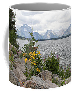 Wyoming Mountains Coffee Mug