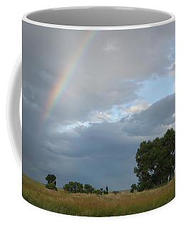 Wyoming Rainbow Coffee Mug