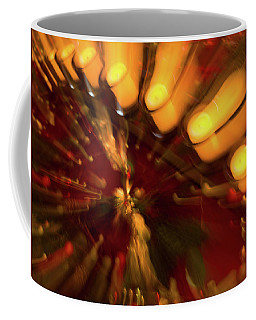 Coffee Mug featuring the photograph Xmas Burst 1 by Rebecca Cozart