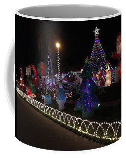 Xmas Deco Coffee Mug by Val Oconnor