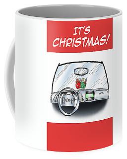 Hang Up Dice Coffee Mug