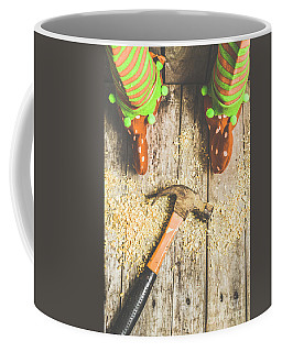 Xmas Workshop Elf Coffee Mug