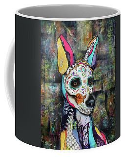 Xolo Mexican Hairless Day Of The Dead Coffee Mug