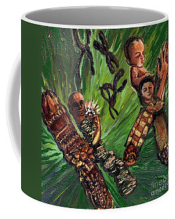 Xx Chromosomes Microbiology Landscapes Series Coffee Mug