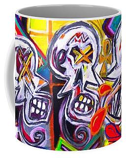 Xxxkull The Xxxiamese Twins  Coffee Mug