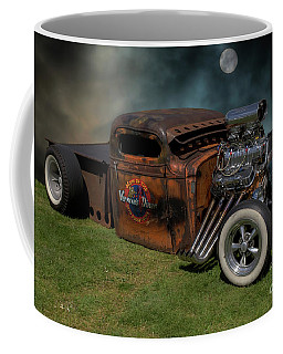Coffee Mug featuring the photograph Vermin's Diner by Wendy Wilton