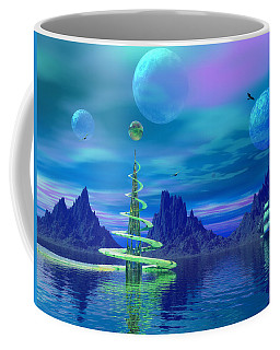 Coffee Mug featuring the photograph Xyxus by Mark Blauhoefer