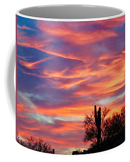 Y Cactus Sunset 2 Coffee Mug