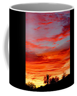Y Cactus Sunset 3 Coffee Mug