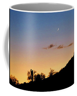 Y Cactus Sunset Moonrise Coffee Mug