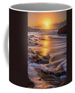 Coffee Mug featuring the photograph Yachats' Sun by Darren White