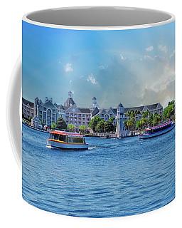 Yacht And Beach Club Walt Disney World Coffee Mug