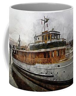 Yacht M V Discovery Coffee Mug