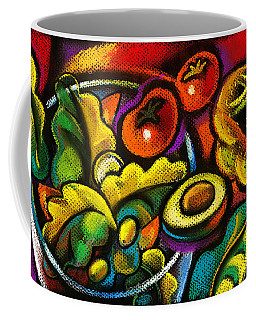 Yammy Salad Coffee Mug