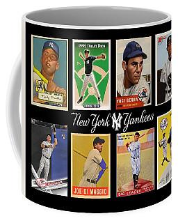 Yankee Cardboard Greats Coffee Mug