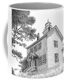 Yaquina Bay Lighthouse Coffee Mug by Lawrence Tripoli