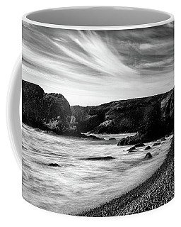 Yaquina Head Lighthouse 1 Black And White Coffee Mug