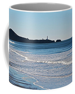 Yaquina Lighthouse And The Pacific Coffee Mug
