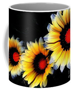 Yard Flowers Coffee Mug