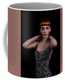 Yasmin Arms Raised Coffee Mug