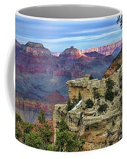 Yavapai Point Sunset Coffee Mug by Diana Mary Sharpton