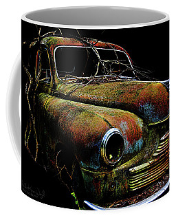 Coffee Mug featuring the photograph Ye Ol Vanguard by Glenda Wright
