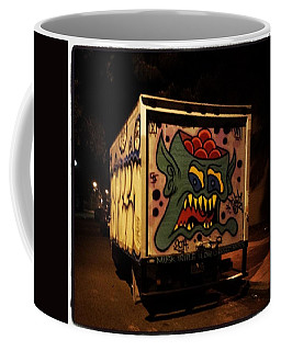 Coffee Mug featuring the photograph Yea, Another Night Out On The Town by Mr Photojimsf