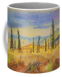 Yellow Alaska Coffee Mug