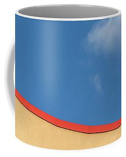 Yellow And Blue - Coffee Mug