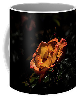 Yellow And Orange Coffee Mug by Jay Stockhaus