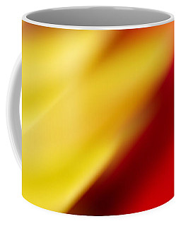 Yellow And Red Coffee Mug