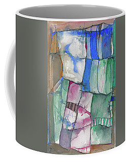 Yellow Awning Coffee Mug by Sandra Church