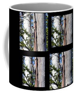 Yellow-bellied Collage Coffee Mug