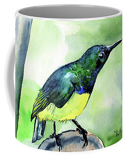 Yellow Bellied Sunbird Coffee Mug